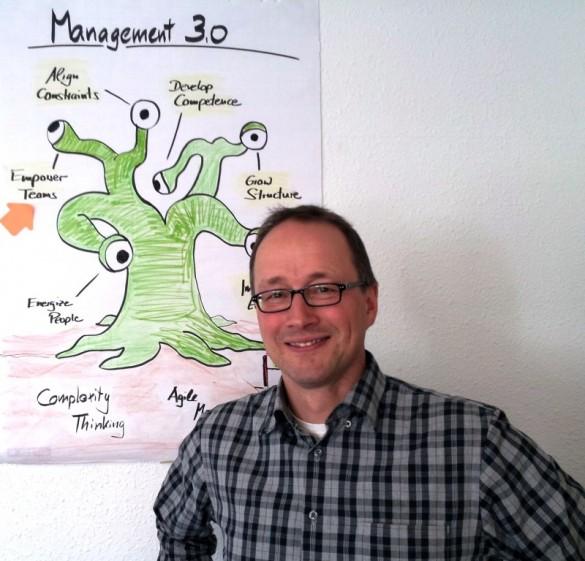 Jürgen Dittmar und das Management 3.0 Model