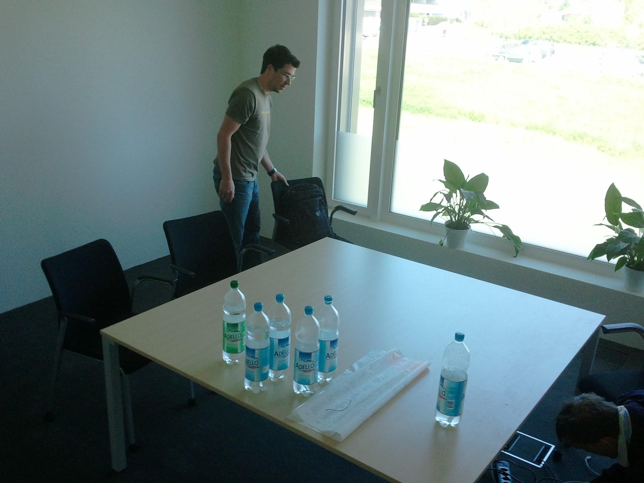 Meetingraum Genf - vorher